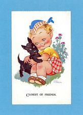 Agnes Richardson Artist Signed Vintage Postcard