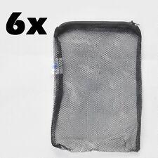 """6 pcs 8"""" x 5.5"""" Aquarium Fish Tank Pond Filter Media Mesh Bags Zipper Reusable"""