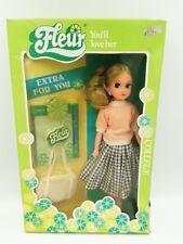 Vintage Fleur College Blonde doll Hard to find Dutch Sindy 80's Nib