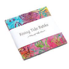 "Moda FABRIC Charm Pack ~ RISING TIDE BATIKS ~ 40 - 5"" squares"