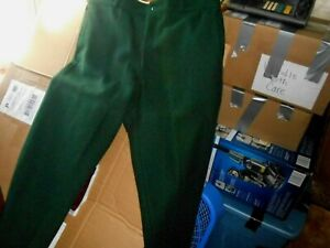 Vintage JOHNSON WOOLEN MILLS Famous Spruce Green Wool Hunting Pants Mens 38x29