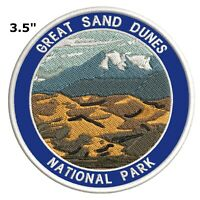 Great Sand Dunes National Park Embroidered Patch Iron-On Souvenir Travel Explore