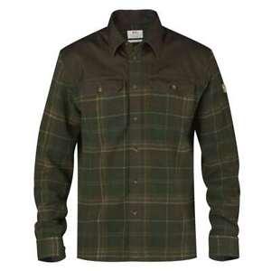 New Fjallraven Granit Shirt Green