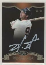 2012 Topps Tier One On the Rise White Ink /25 Brandon Belt #OR-BBE Auto