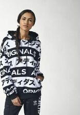 ADIDAS ORIGINALS Typo Hoodie AA2489 JAPANESE Women SMALL (S) 34/36 NEW with TAGS