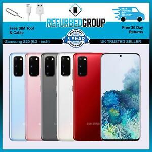 Samsung Galaxy S20 5G - 128GB - Grey / Blue / Pink - Unlocked Sim Free