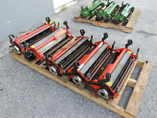 Jacobsen Eclipse- Reels - Golf Course Greens Lawn Mower - Set of 5 spare reels