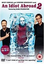 AN IDIOT ABROAD 2 - DVD - REGION 2 UK