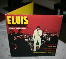 ELVIS PRESLEY-KING OF ROCK'N'ROLL- 2 LPS- NEAR MINT FRANCE PRESS