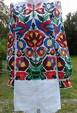 Ukrainian embroidery, embroidered blouse, Bird, any color, XS - 4XL, Ukraine