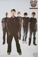 """Radiohead """"Group Behind Thom Yorke"""" Poster From Asia - Alternative Rock Music"""