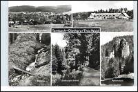 TAMBACH-DIETHARZ Thüringen Thüringer Wald DDR Mehrbild-AK Postkarte ungelaufen