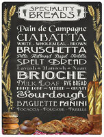 Speciality Breads metal sign (rh)
