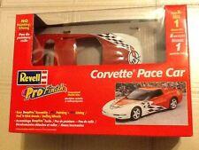 Revell 1/25 Pro Finish Corvette Pace Car Snap Model Kitl #1344 Factory Sealed