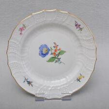 Meissen Neubrandenstein Blume 2, Teller, Kuchenteller, 18,5 cm