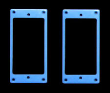 Guitar Parts Humbucker Pickup MOUNTING RINGS Trim Bezels - Set of 2 - BLUE