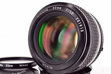 Excellent++ Nikon Ai NIKKOR 50mm f/1.2 with 52mm L1Bc filter from Japan (O1)