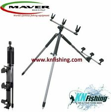 MAVER ''INVICIBLE'' Tripod For 3 Rods Surfcasting Heavy Casting Strong