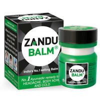 ZANDU BALM Ayurvedic Remedy for Headache,Body Pains,aches Cold Strains 25ML