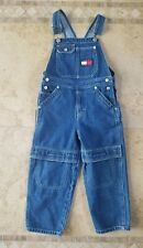 Boys Tommy Hilfiger overalls Bib Jeans Size 4