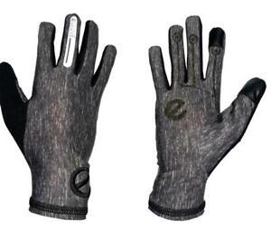 eGLOVE Run - Grey Touchscreen Running Gloves - Reflective detail - SECONDS