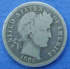 Verenigde Staten - USA : 1900 P dime, 10 cent, Barber. Silver.