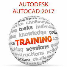 Autodesk AutoCAD 2017-formazione VIDEO TUTORIAL DVD