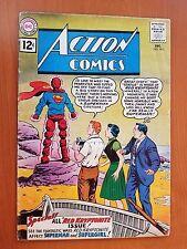 Dc Action Comics, Vol. 1 # 283 (Dec, 1961) 1st App. Legion of Super Villains