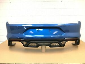 2018-2020 ford mustang - mustang shelby GT500 rear bumper (performance blue) #6