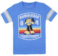 Transformers Robots In Disguise Boys' Bumblebee 84 Short Sleeve T-Shirt