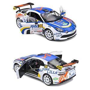1/18 Solido Alpine A110 RGT Rallye Touquet N°30 Delecour 2020 Neuf