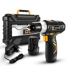 DEKO Electric Screwdriver 12v Cordless Drill Mini Wireless Power  DEKO GCD12DU3