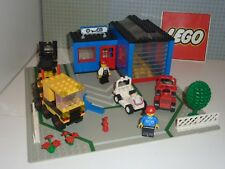 RARE Set légo city 1966-1: Garage, Truck, and Carts complet