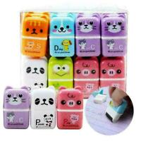 1pc Mini Roller Eraser Cartoon Rubber Kawaii Students Stationery Kids A1X5 H9W0