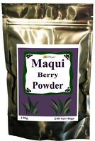 100% PURE RAW ORGANIC MAQUI BERRY BULK POWDER FREEZE DRIED SUPER FRUIT GMO FREE