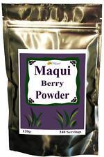 100% PURE RAW ORGANIC MAQUI BERRY BULK POWDER FREEZE DRIED SUPER FRUIT GMO FREE