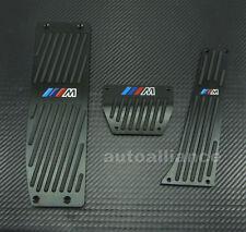 M-Tech Aluminum Foot Rest Pedals AT For BMW E30 E36 E46 E87 E90 E91 E92 E93 M3