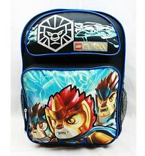 "NWT Lego Chima 16"" Large Backpack School Bag by Lego Newest Style Limited Qty"