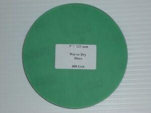 "Wet or Dry Discs  5"" 125 mm"