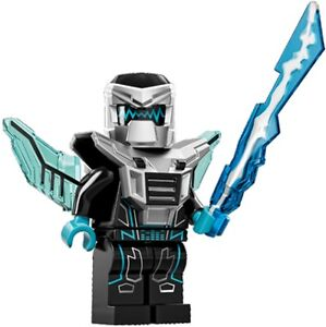 LEGO Minifigures Series 15 Robot Mech Warrior with laser -suit army / space set