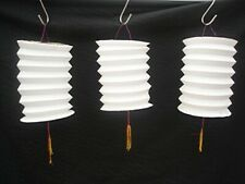 4 CHINESE S WHITE COLOUR PAPER LANTERN BIRTHDAY HOME WEDDING JAPANESE PARTY DECO