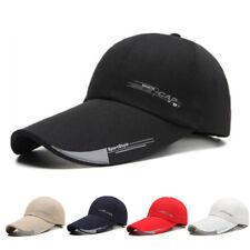 2018 Mens Sport Cap For Fish Outdoor Baseball Cap Long Visor Brim Shade Sun Hat