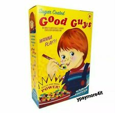 Child's Play Good Guys Chucky Halloween Collectible Prop Decoration Cereal Box
