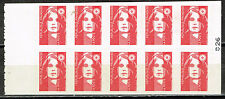 France Regular issue Mariana booklet stamps 1990 MNH