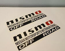 Nismo off road decal sticker for Nissan Frontier D26 Sport 4X4 pickup