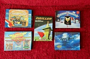 ZX Spectrum Big Box Game Bundle 5 Boxed with 15 Games Collection Retro Vintage