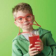 CRAZY DRINKING STRAW GLASSES SPECTACLES -  GIRLS BOYS PARTY JOKE TOY 061/590