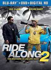 Ride Along 2 (Blu-ray/DVD, 2016, 2-Disc Set, Includes Digital Copy)