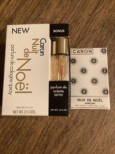 caron nuit de noel cologne spray with bonus parfum de toilette spray and parfum