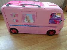 More details for barbie van pop up camper duplex vehicle pink good condition